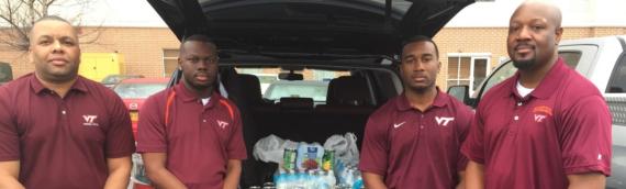 Food Donations Sent to Tornado Victims