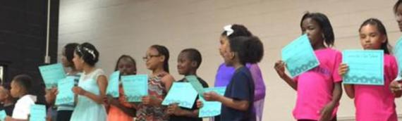 The Roanoke Kappas Serve as Guest Judges at Local Talent Show