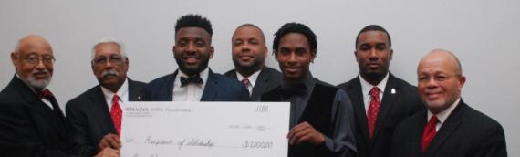 The Roanoke Kappas Donate $3000 in College Scholarship Awards