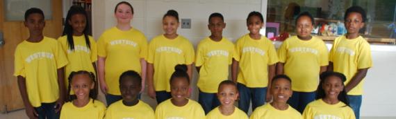Partnership with Westside Elementary School Step Team