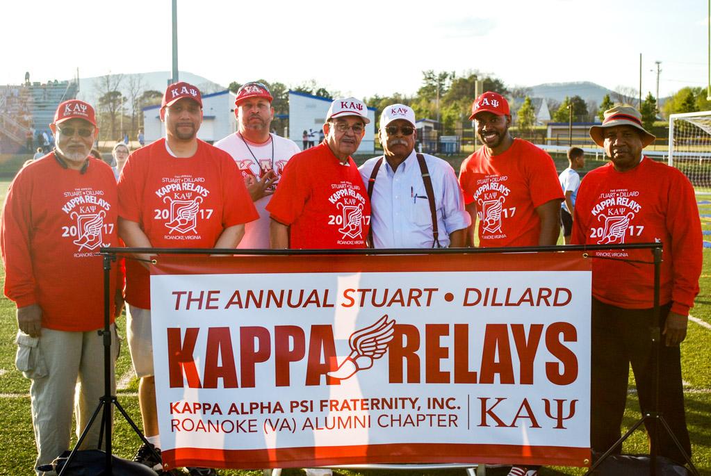 Members of the Roanoke (VA) Alumni Chapter of Kappa Alpha Psi Fraternity, Inc. (Photograph by Jourdan Baxley).